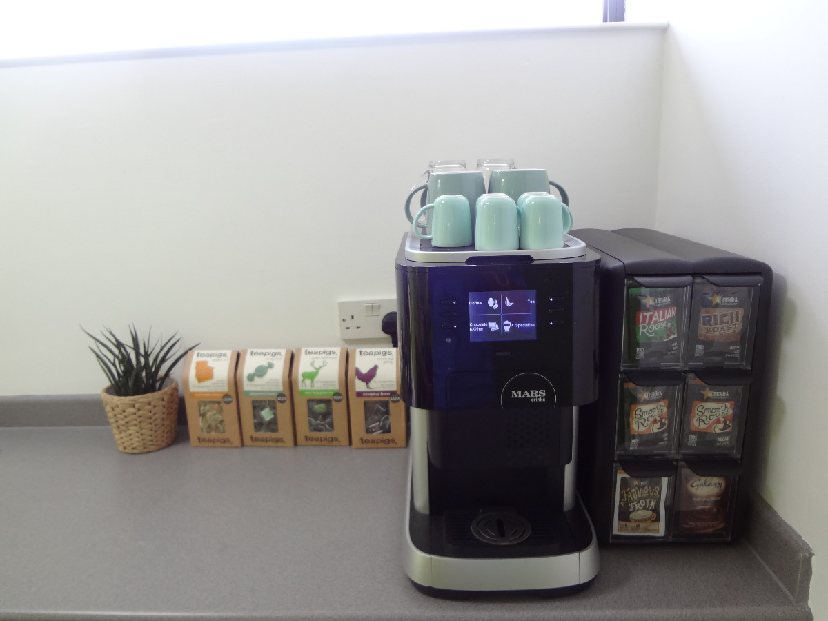 Kingston CoWork Coffee Machine
